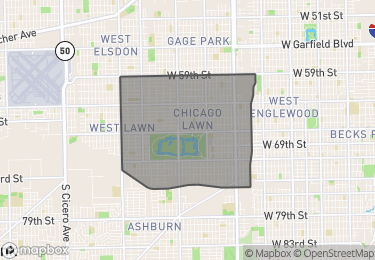 Map of Homes for Sale in Chicago Lawn