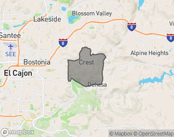 Map of Homes for Sale in Crest