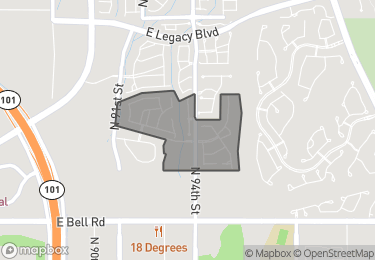 Map of Homes for Sale in DC Ranch