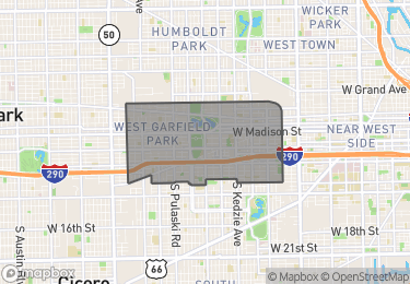 Map of Homes for Sale in East Garfield Park