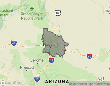 Map of Homes for Sale in Flagstaff