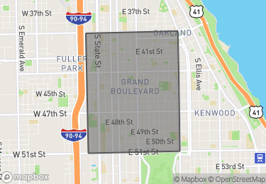 Map of Homes for Sale in Grand Boulevard