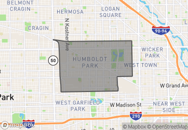 Map of Homes for Sale in Humboldt Park