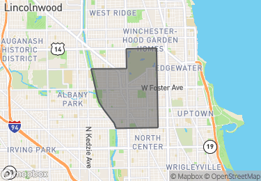 Map of Homes for Sale in Lincoln Square