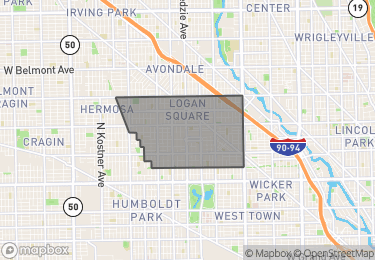 Map of Homes for Sale in Logan Square