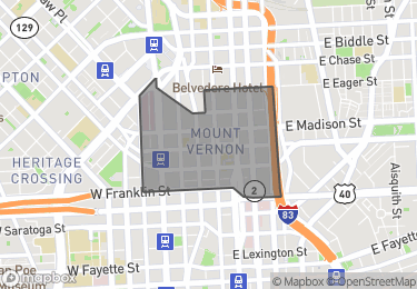 Map of Homes for Sale in Mount Vernon
