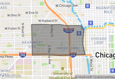Map of Homes for Sale in Near West Side – West Loop