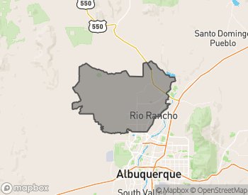 Map of Homes for Sale in Rio Rancho