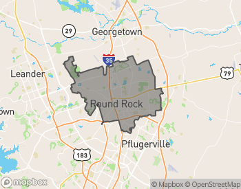 Map of Homes for Sale in Round Rock