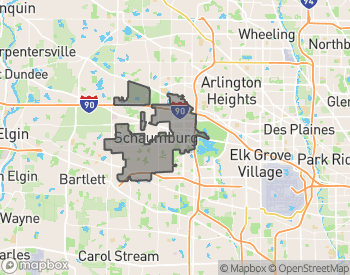 Map of Homes for Sale in Schaumburg