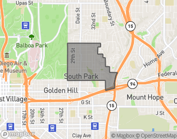 Map of Homes for Sale in South Park