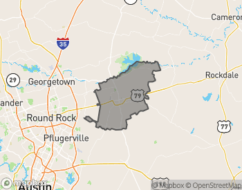 Map of Homes for Sale in Taylor