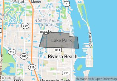 Map of Lake Park