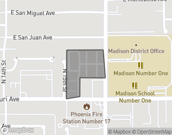 Map of Madison Place