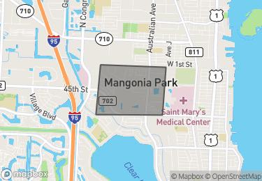 Map of Mangonia Park