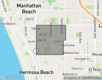 Map of Manhattan Beach Mira Costa
