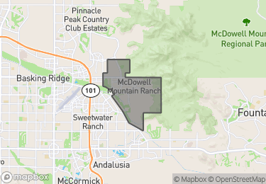 Map of McDowell Mountain Ranch