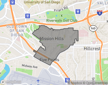 Map of Mission Hills