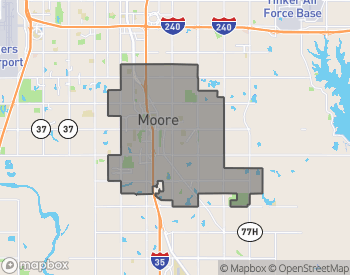 Map of Moore