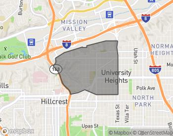 Map of Neighborhood Description of University Heights