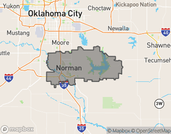 Map of Norman