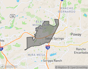 Map of Rancho Penasquitos-Santaluz-4S Homes For Sale