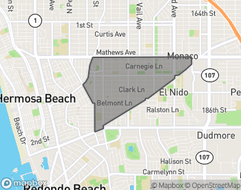 Map of Redondo Beach Villas South