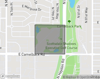 Map of Scottsdale Shadows