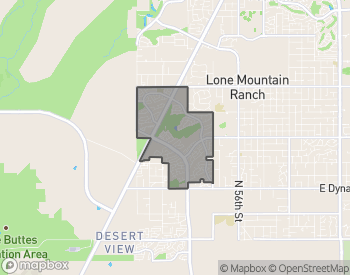 Map of Tatum Ranch Homes for Sale