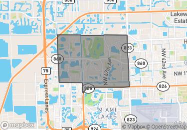 Map of Zip Code 33015