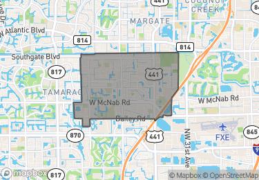 Map of Zip Code 33068