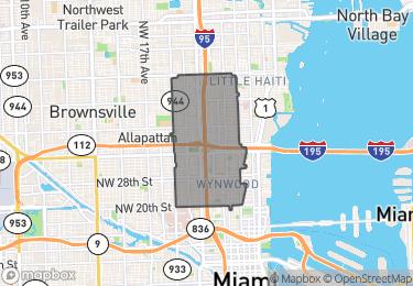 Map of Zip Code 33127