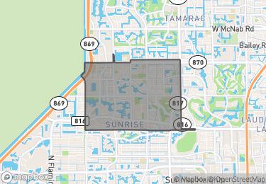 Map of Zip Code 33351