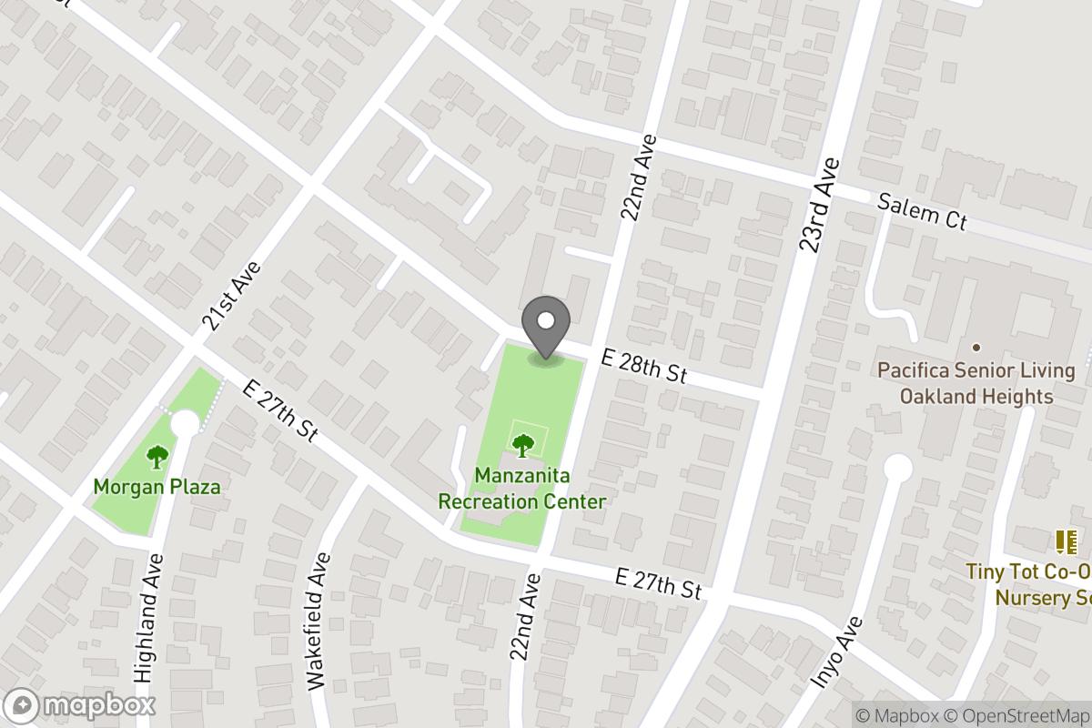 Map of Project: Manzanita Park Tot Lot