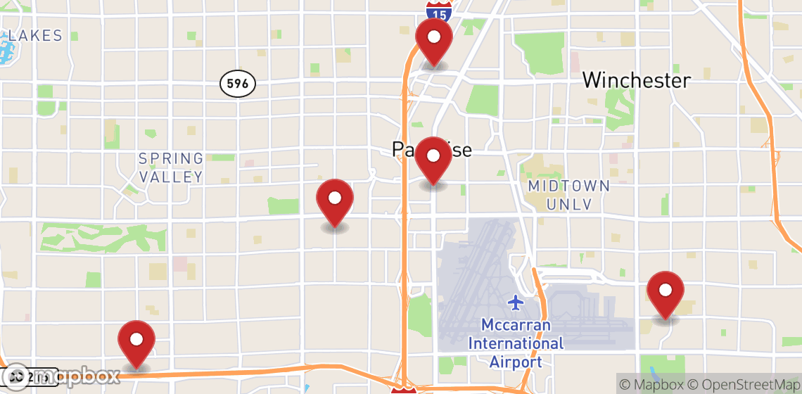 Location de motos et scooters à Las Vegas