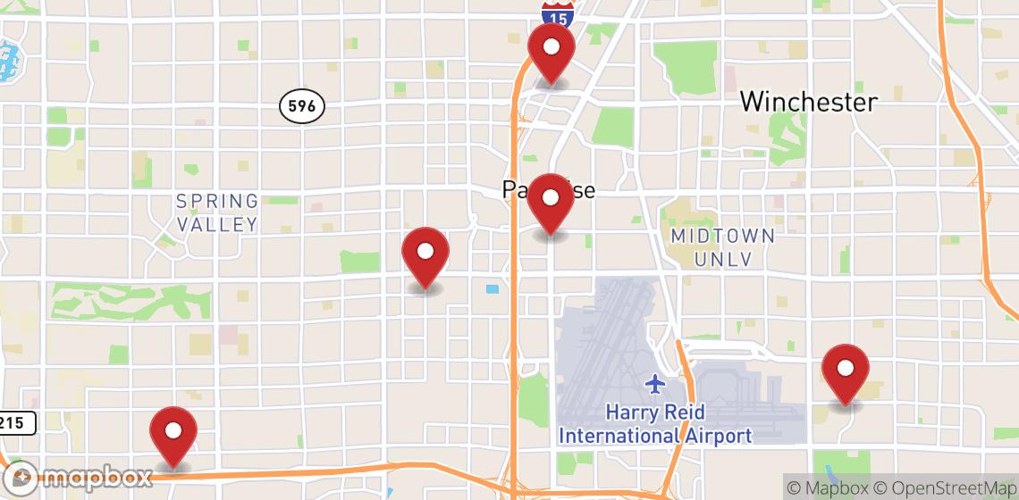 Alquiler de motos y scooters en Las Vegas
