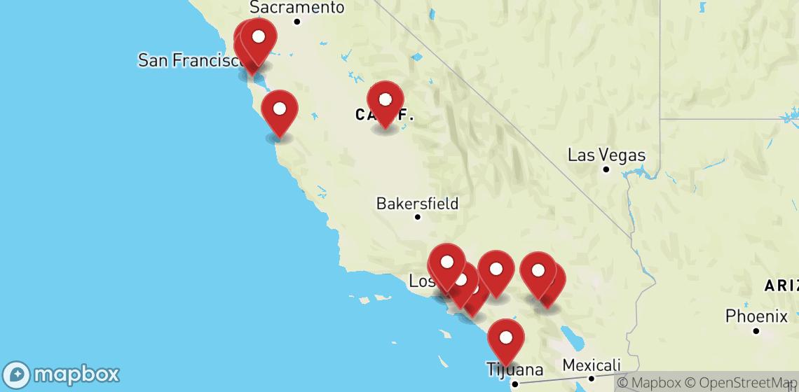 Motorsykkel- og scooterutleie i California