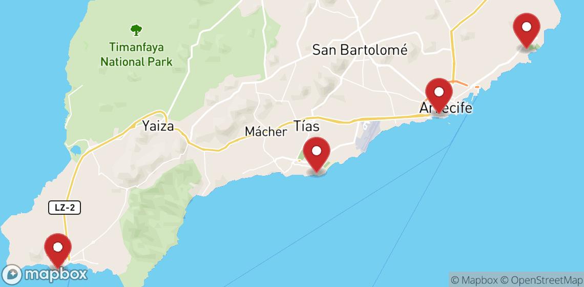 Motorcykel- och skoteruthyrning i Lanzarote