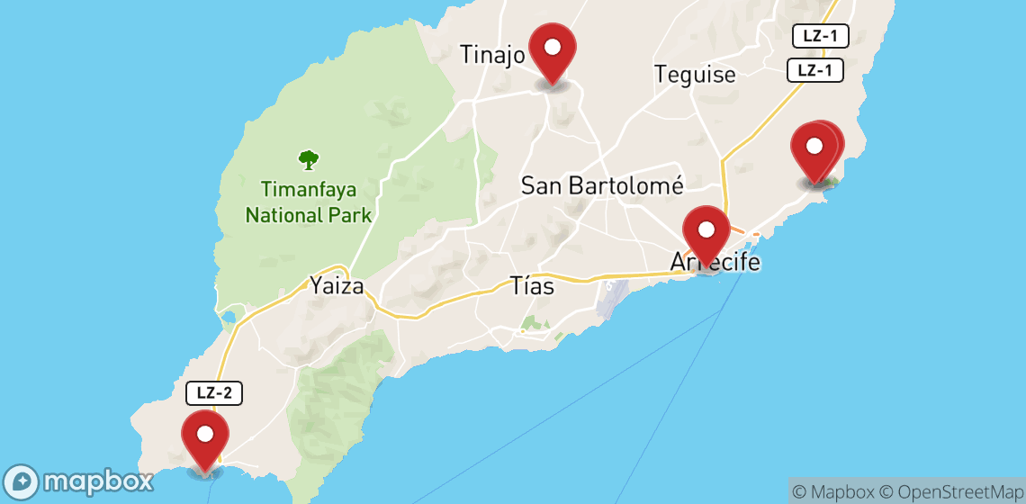 Location de motos et scooters à Lanzarote