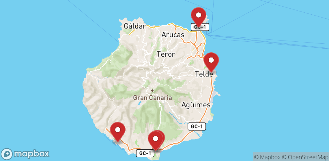 Location de motos et scooters à Grande Canarie