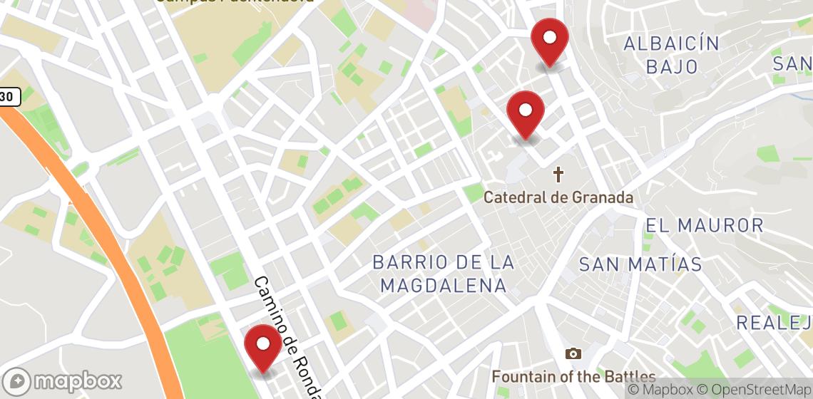 Motorsykkel- og scooterutleie i Granada