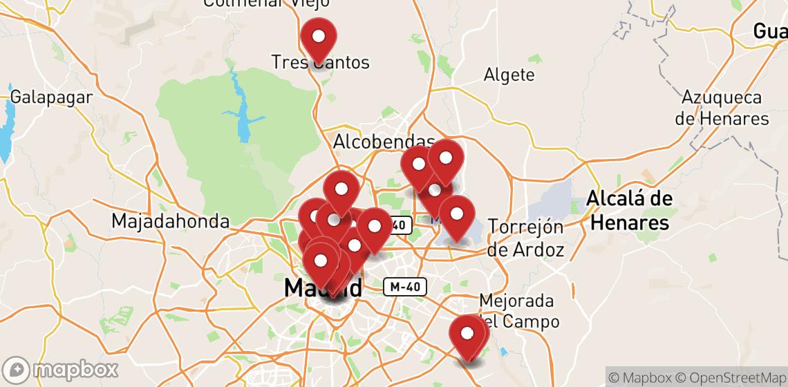 Прокат мотоциклов и скутеров в Madrid