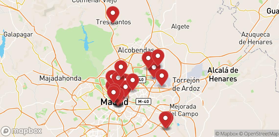 Noleggio moto e scooter Madrid