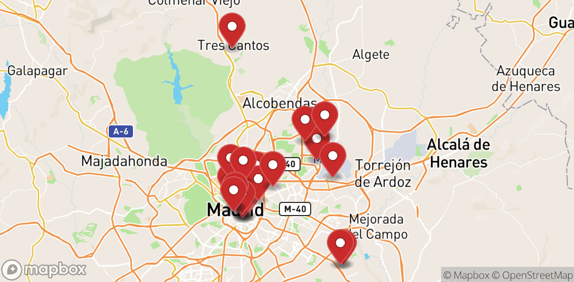 Location de motos et scooters à Madrid