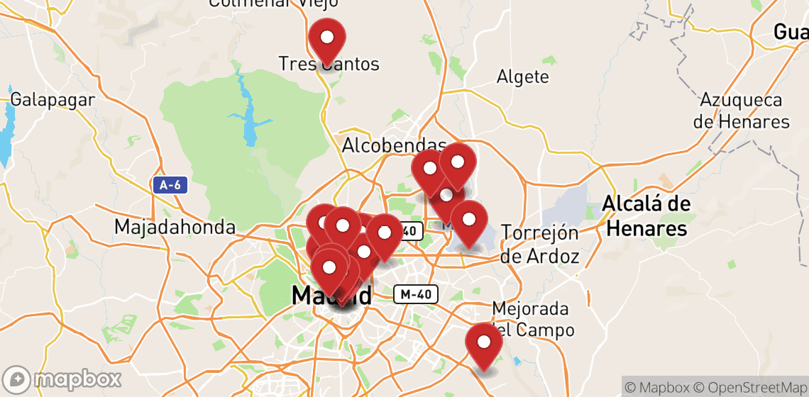 Motorrad und Rollerverleih in Madrid