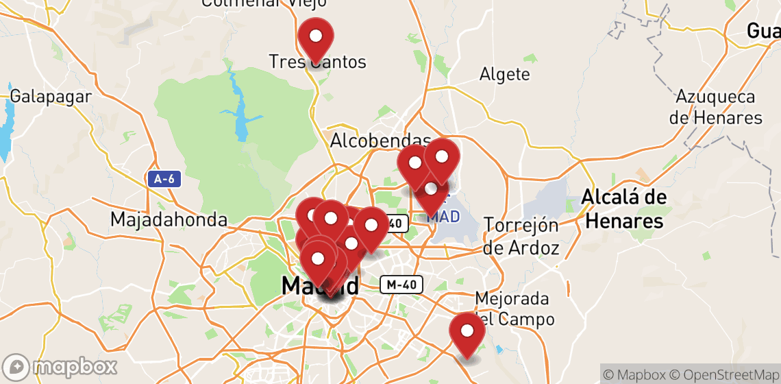 Motorcycle and scooter rentals in Madrid