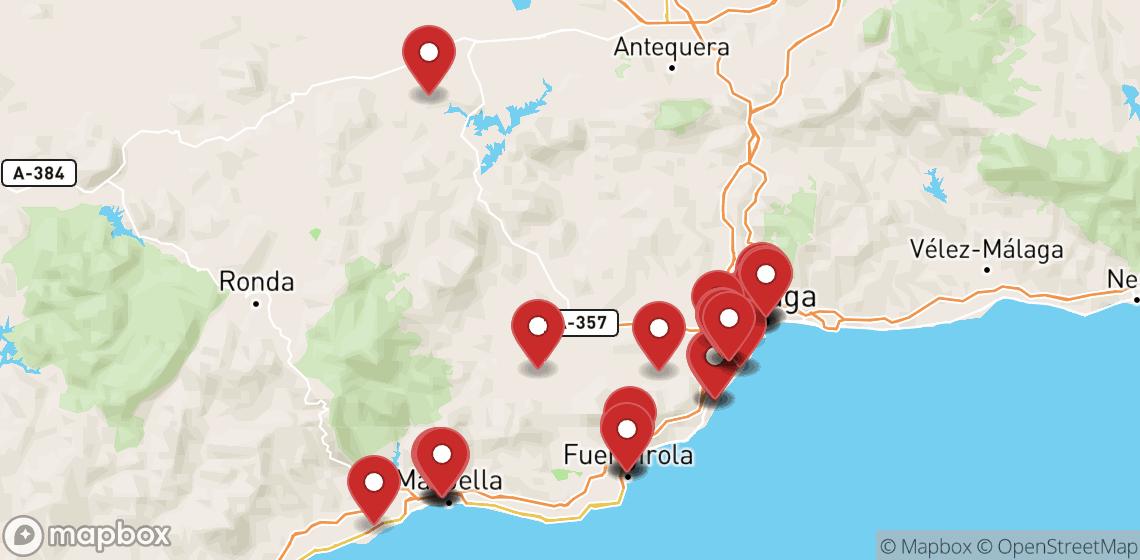 Motorcykel- och skoteruthyrning i Málaga