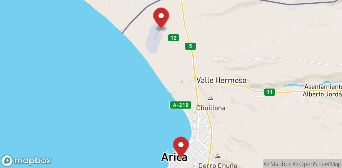 Motorcycle and scooter rentals in Arica