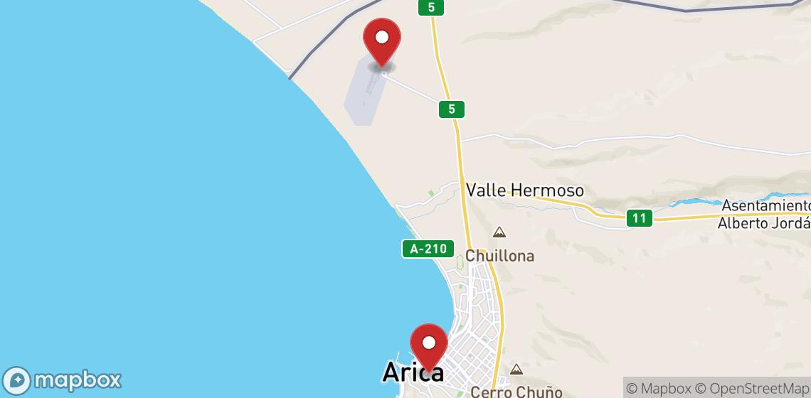 摩托车租车: Arica