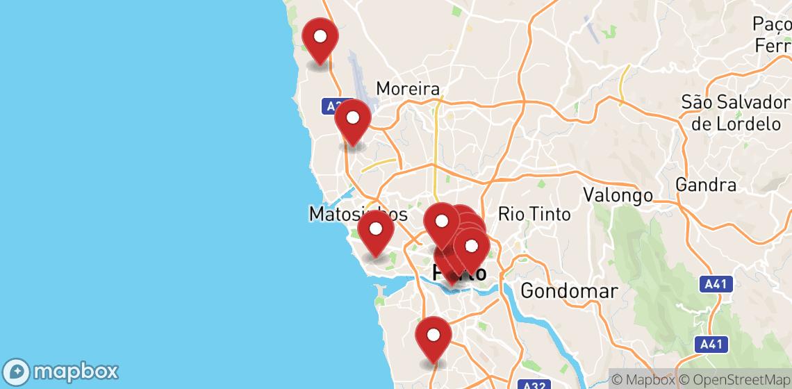 Motorrad und Rollerverleih in Porto